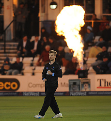 Sussex's Will Beer looks on.  - Mandatory by-line: Alex Davidson/JMP - 01/06/2016 - CRICKET - The 1st Central County Ground - Hove, United Kingdom - Sussex v Somerset - NatWest T20 Blast
