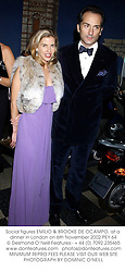 Social figures EMILIO & BROOKE DE OCAMPO, at a dinner in London on 6th November 2002.PEY 64