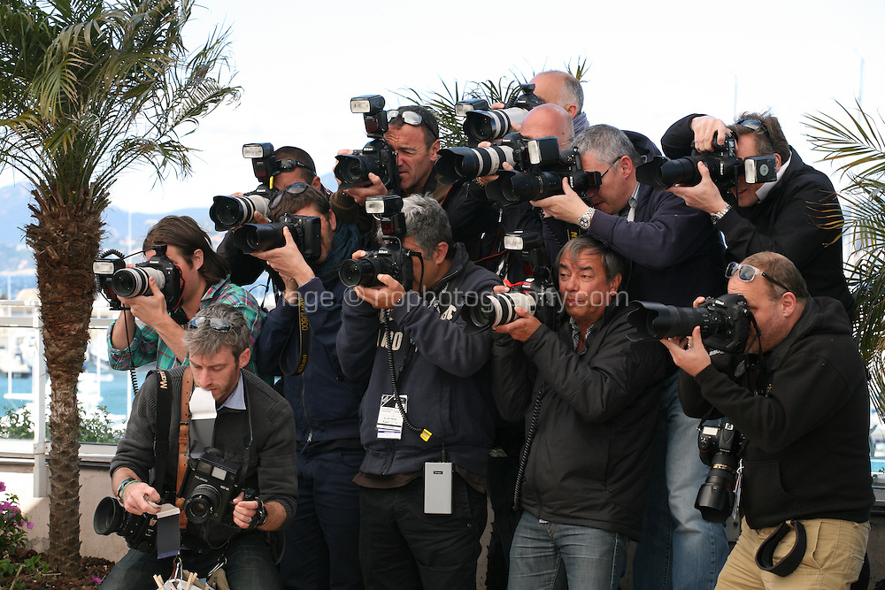 Photographers at Venus in Fur - La Venus A La Fourrure Photocall Cannes Film Festival On Saturday 26th May May 2013
