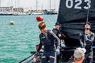 31-7-2017 PALMA DE MALLORCA - Pierre Casiraghi Monaco  with team MaLIZIA they compete in the 36th King's Sailing Cup in Palma de Mallorca, Mallorca island, Balearic Islands, Spain, 31 July 2017 COPYRIGHT ROBIN UTRECHT <br /> <br /> 31-7-2017 PALMA DE MALLORCA - Spanje's Koning Felipe VI en bemanningsleden van Aifos-schip als ze zeilen  in de 36e Koning Zeilbeker in Palma de Mallorca, Mallorca eiland, Balearen, Spanje, 31 juli 2017 COPYRIGHT ROBIN UTRECHT