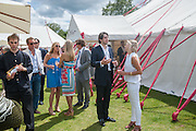 CHELSY DAVY; KONSTANTIN VON BISMARCK;  Cartier Queen's Cup. Guards Polo Club, Windsor Great Park. 17 June 2012