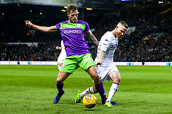 Tomas Kalas of Bristol City takes on Adam Forshaw of Leeds United - Mandatory by-line: Robbie Stephenson/JMP - 24/11/2018 - FOOTBALL - Elland Road - Leeds, England - Leeds United v Bristol City - Sky Bet Championship