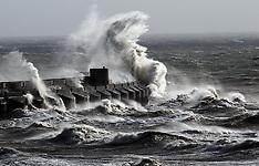 OCT 27 2013 St.Judes's storm  to hit the south coast of England