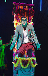 © Licensed to London News Pictures. 30/05/2012. London, England. Tariq Jordan as Kabir. Premiere of the Musical Wah! Wah! Girls at the Peacock Theatre in a Sadler?s Wells, Theatre Royal Stratford East and Kneehigh Production where East London meets Bollywood.  Written by Tanika Gupta, directed by Emma Rice with choreography by Javed Sanadi and leading Kathak choreographer Gauri Sharma Tripath. iWah! Wah! Girls is part of World Stages London, a two month celebration of London?s diversity through a series of exceptional shows created by leading UK and international artists.  Photo credit: Bettina Strenske/LNP