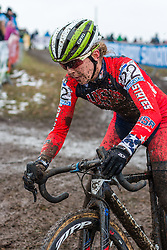 Kaitlin Antonneau (USA), Women Elite, Cyclo-cross World Championships Tabor, Czech Republic, 31 January 2015, Photo by Pim Nijland / PelotonPhotos.com