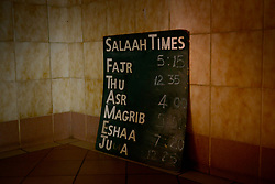 South Africa – Johannesburg – A visit to a Islamic mosque proves the observance of covid-19 lock down rules. . Picture: Timothy Bernard/African News Agency(ANA)