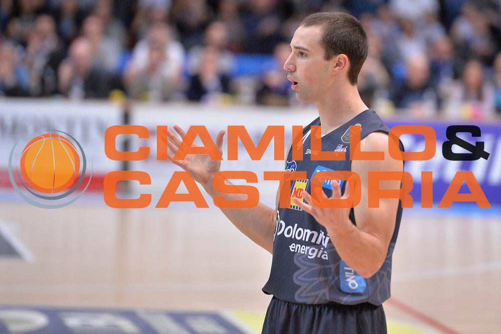 Aaron Craft<br /> Dolomiti Energia Aquila Basket Trento - Consultinvest Victoria Libertas Pesaro<br /> Lega Basket Serie A 2016/2017<br /> Trento, 26/03/2017<br /> Foto M. Ceretti / Ciamillo - Castoria