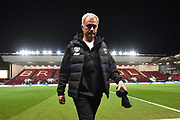 Manchester United manager Jose Mourinho on arrival before the EFL Cup match between Bristol City and Manchester United at Ashton Gate, Bristol, England on 20 December 2017. Photo by Graham Hunt.