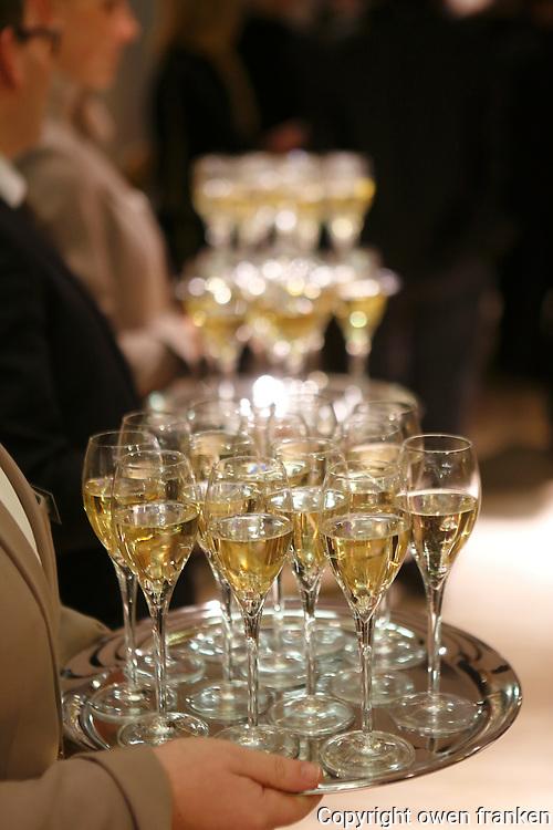 Champagne at a Paris soirée