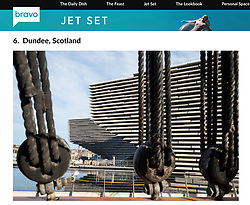 Bravo TV Website; V&A Museum in Dundee