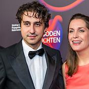 NLD/Amsterdam/20170324 - Boekenbal 2017, Jesse Klaver en partner Jolein