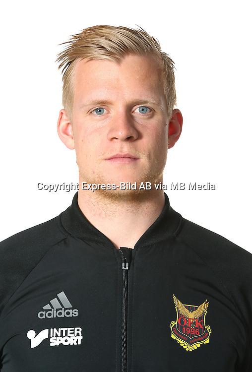 Linus Eriksson<br /> Halvfigur<br /> @Leverans<br /> Allsvenskan 2016<br /> Fotboll
