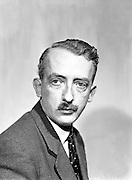 Sean O'Riada, Composer and Director of Music at the Abbey Theatre..27.04.1960