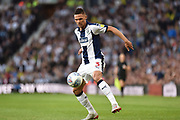 West Bromwich Albion defender Kieran Gibbs (3) controls the ball during the EFL Sky Bet Championship play-off second leg match between West Bromwich Albion and Aston Villa at The Hawthorns, West Bromwich, England on 14 May 2019.
