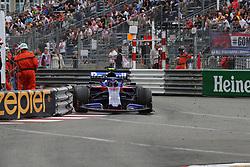 May 26, 2019 - Monte Carlo, Monaco - xa9; Photo4 / LaPresse.26/05/2019 Monte Carlo, Monaco.Sport .Grand Prix Formula One Monaco 2019.In the pic: Alexander Albon (THA) Scuderia Toro Rosso STR14 (Credit Image: © Photo4/Lapresse via ZUMA Press)