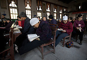Chinese christians in Pucheng, Shanxi.