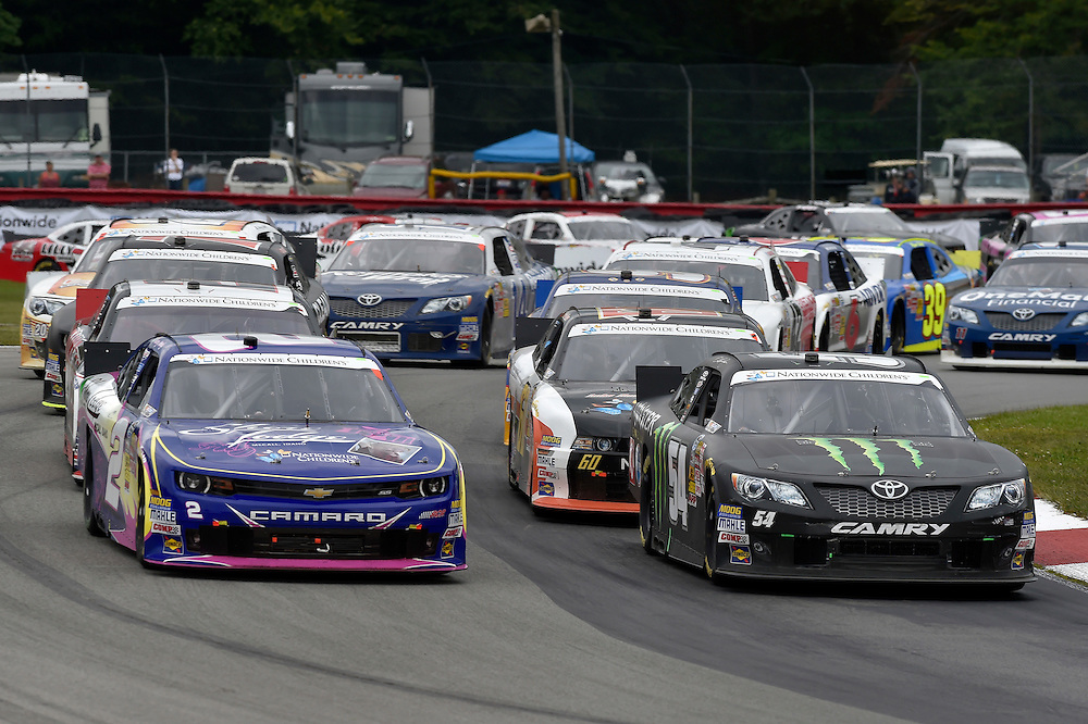 15-16 August, 2014, Lexington, Ohio USA<br /> Sam Hornish Jr, Monster Energy Toyota Camry, Brian Scott<br /> &copy;2014, Scott R LePage <br /> LAT Photo USA