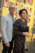 ANDREW MILLER; SUZANNA MILLER, Royal Academy Summer Exhibition party. Burlington House. Piccadilly. London. 6 June 2018