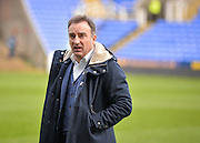 Sheffield Wednesday Manager Carlos Carvalhal during the Sky Bet Championship match between Reading and Sheffield Wednesday at the Madejski Stadium, Reading, England on 23 January 2016. Photo by Adam Rivers.