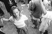 Young Ravers,Ashton Court Festival, Bristol, UK, 1995.