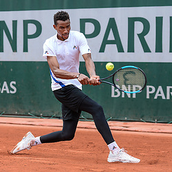 Calvin Hemery of France during Day 2 of Roland Garros, the French Open 2018 on May 28, 2018 in Paris, France. (Photo by Baptiste Fernandez/Icon Sport)
