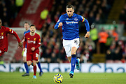 Everton midfielder Gylfi Sigurdsson (10) during the Premier League match between Liverpool and Everton at Anfield, Liverpool, England on 4 December 2019.