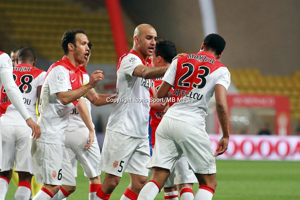 JOIE MONACO - 13.03.2015 -   Monaco / Bastia -  29eme journee de Ligue 1 <br />