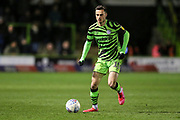 Forest Green Rovers Aaron Collins(10) during the EFL Sky Bet League 2 match between Forest Green Rovers and Carlisle United at the New Lawn, Forest Green, United Kingdom on 28 January 2020.