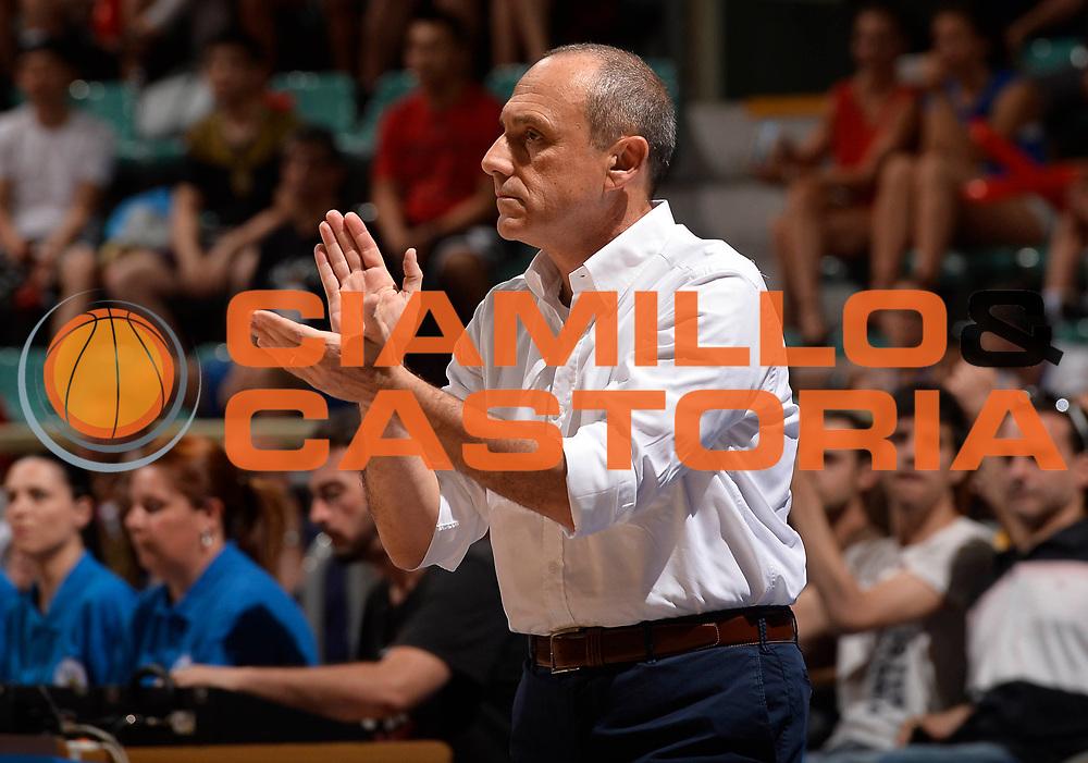 DESCRIZIONE: Bologna Basketball City Tournament - Italia Canada<br /> GIOCATORE: Ettore Messina<br /> CATEGORIA: Nazionale Maschile Senior<br /> GARA: Bologna Basketball City Tournament - Italia Canada<br /> DATA: 26/06/2016<br /> AUTORE: Agenzia Ciamillo-Castoria