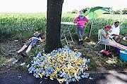 Nederland, Groesbeek, 18-7-20134 Daagse, Dag van Groesbeek, Zevenheuvelenweg. De vierdaagse is het grootste wandelevenement ter wereld.Foto: Flip Franssen