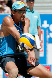 Emanuel Rego of Brazil at A1 Beach Volleyball Grand Slam tournament of Swatch FIVB World Tour 2010, bronze medal, on August 1, 2010 in Klagenfurt, Austria. (Photo by Matic Klansek Velej / Sportida)