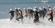 Triathlon start. Photo: ALPHAPIX / PHOTOSPORT