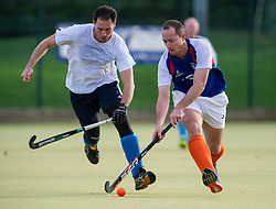 Bishop's Stortford Vets v West Herts - EH O40s Cup, Hockerill College, Bishop's Stortford, UK on 15 November 2015. Photo: Simon Parker