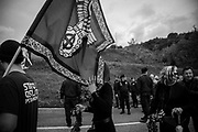 About 2000 fascists gathered in Predappio, Italy to commemorate the annivrsary of the 'Marcia su Roma' A march held on October 28th 1922 and marked the start of the Italian fascit era .Federico Scoppa
