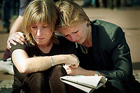 31 August 1997, 4am local time, at the Piti&eacute;-Salp&ecirc;tri&egrave;re Hospital, Paris.<br /> The announcement was made that most famous woman in the world had just died in a tragic car crash in a Parisian tunnel.<br /> <br /> Princess Diana's death sent the world into wide spread grief. <br /> <br /> Mourners grieve outside Buckingham Palace on the day of her funeral.