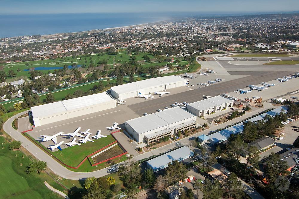 Aerials of Monterey Jet Center (MJC)