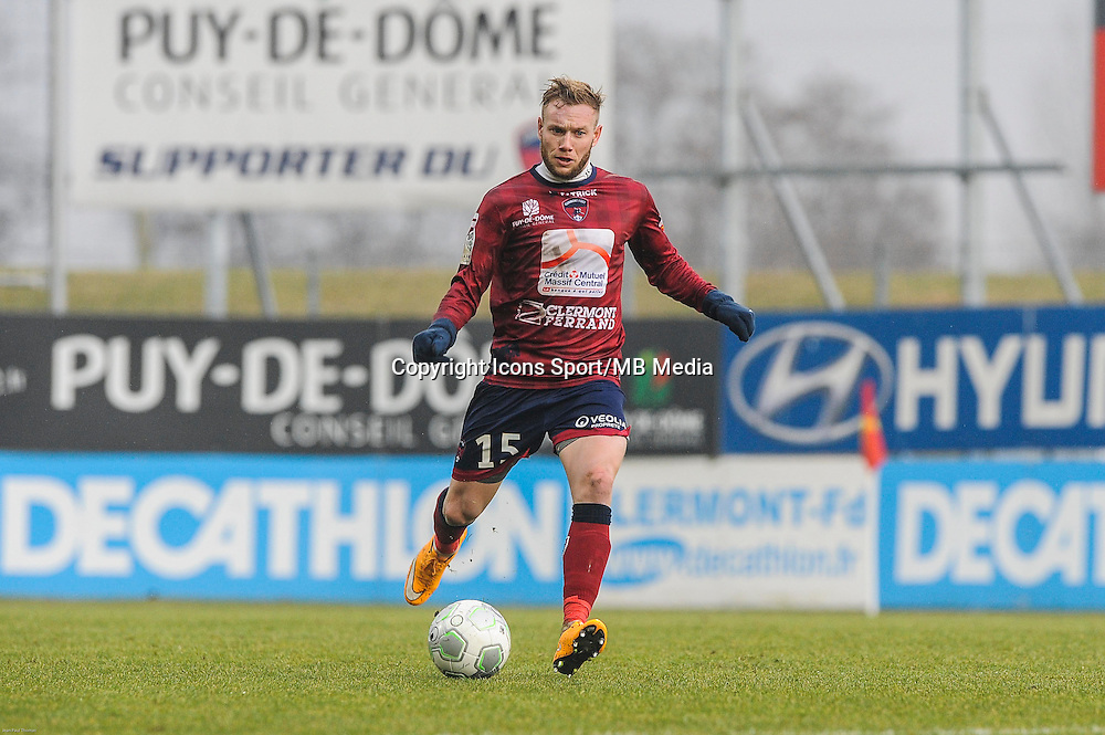 Thibault MOULIN - 24.01.2015 - Clermont / Chateauroux  - 21eme journee de Ligue2<br />