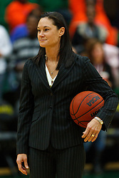 Dec 7, 2011; San Francisco CA, USA; San Francisco Lady Dons head coach Jennifer Azzi on the sidelines before the game against the Florida Gators at War Memorial Gym.  Mandatory Credit: Jason O. Watson-US PRESSWIRE
