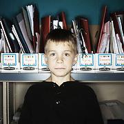 Sean O'Neal. Casey Brennan's kindergarten class at Hopkins Elementary School in Sherwood on Wednesday, May 23, 2012.