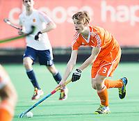 ROTTERDAM -  Karst Timmer (Neth).   Test Match Hockey : Netherlands Boys U18  v England U18 . COPYRIGHT KOEN SUYK