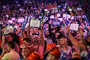 Darts fans during the World Darts Championships 2018 at Alexandra Palace, London, United Kingdom on 28 December 2018.