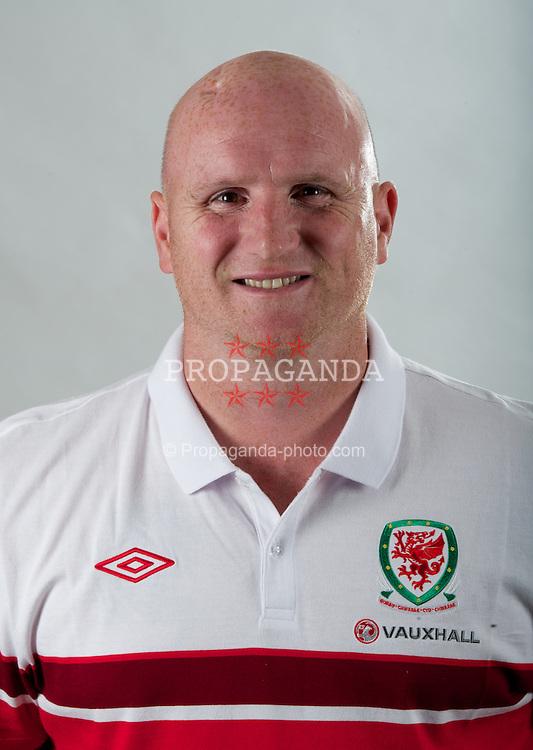 CARDIFF, WALES - Monday, August 13, 2012: Wales' John Hartson. (Pic by David Rawcliffe/Propaganda)