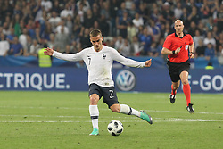 June 1, 2018 - Paris, Ile-de-France, France - Antoine Griezmann (France) during the friendly football match between France and Italy at Allianz Riviera stadium on June 01, 2018 in Nice, France..France won 3-1 over Italy. (Credit Image: © Massimiliano Ferraro/NurPhoto via ZUMA Press)