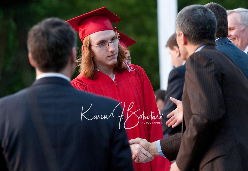 Laconia High School commencement ceremony June 10, 2011.