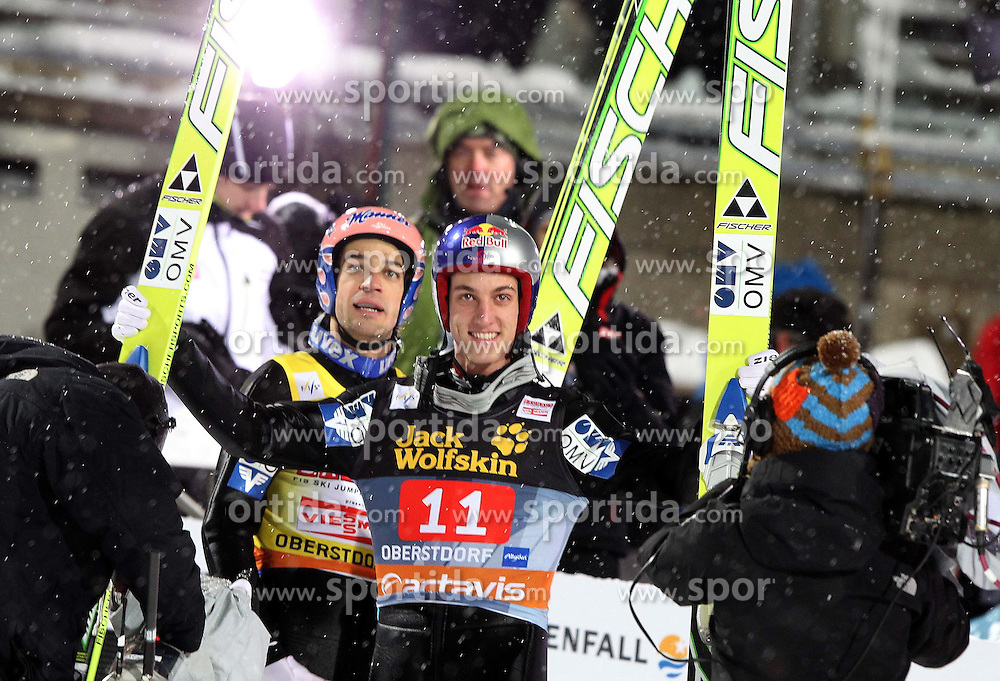 30.12.2011, Schattenbergschanze/ Erdinger Arena, GER, Vierschanzentournee, FIS Weldcup, Ski Springen, im Bild GREGOR SCHLIERENZAUER // during 60th Four-Hills-Tournament of FIS World Cup Ski Jumping at Schattenbergschanze, Oberstdorf, Germany on 2011/12/30. EXPA Pictures © 2011, PhotoCredit: EXPA/ Newspix/ Jerzy Kleszcz..***** ATTENTION - for AUT, SLO, CRO, SRB, SUI and SWE only *****
