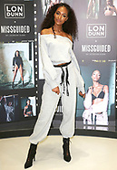 Jourdan Dunn, LON DUNN x MISSGUIDED - Photocall