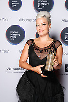 Lily Allen arrival board with shortlist award