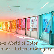 Verbindingsbrug PMC, winnaar 2018 Vanceva® World of Color Awards™ Winner – Exterior Category