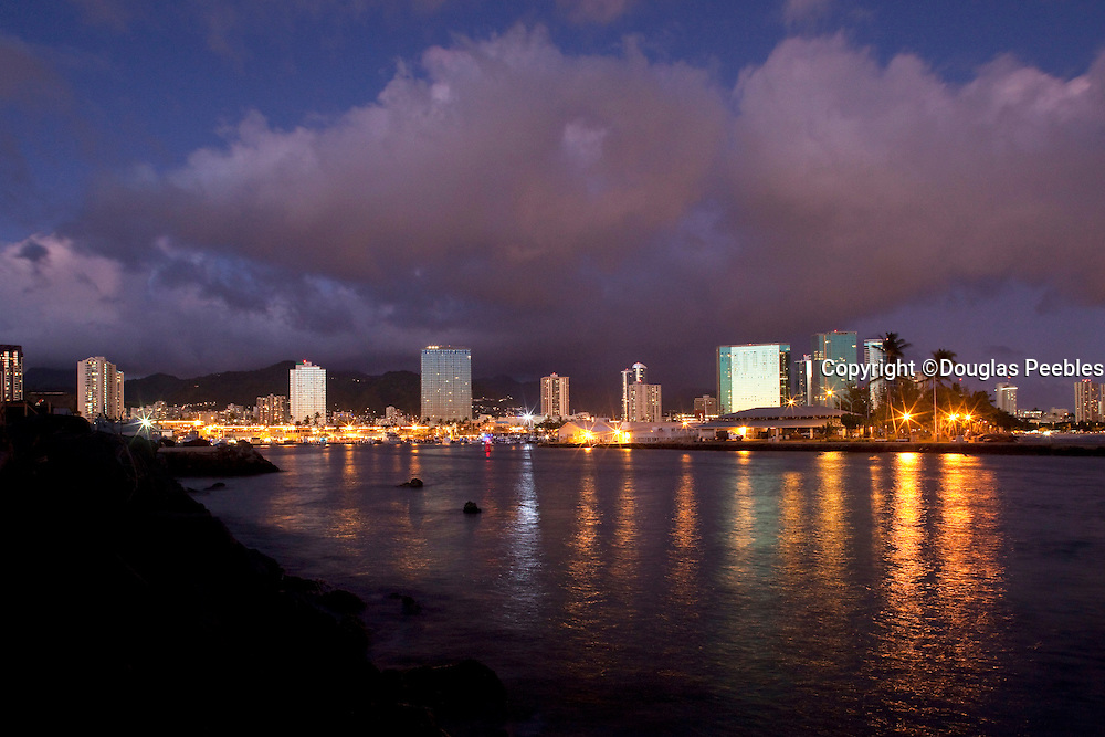 Kewalo Basin, Waterfront Park, Waikiki, Honolulu, Oahu, Hawaii