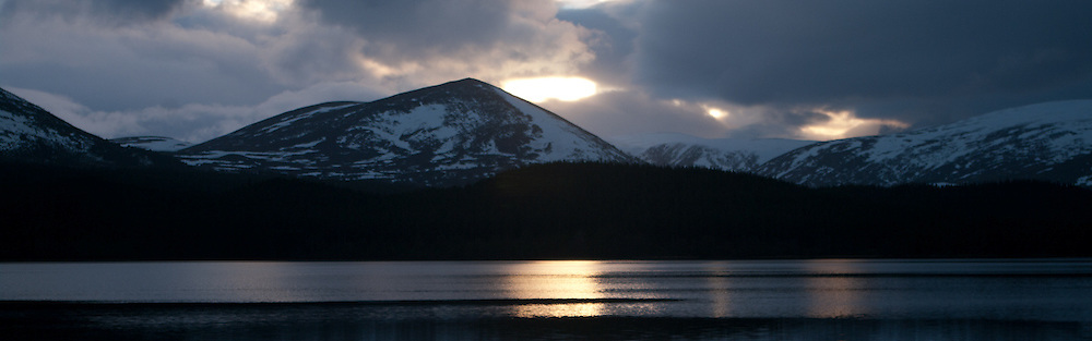 Sunset at Loch Morlich